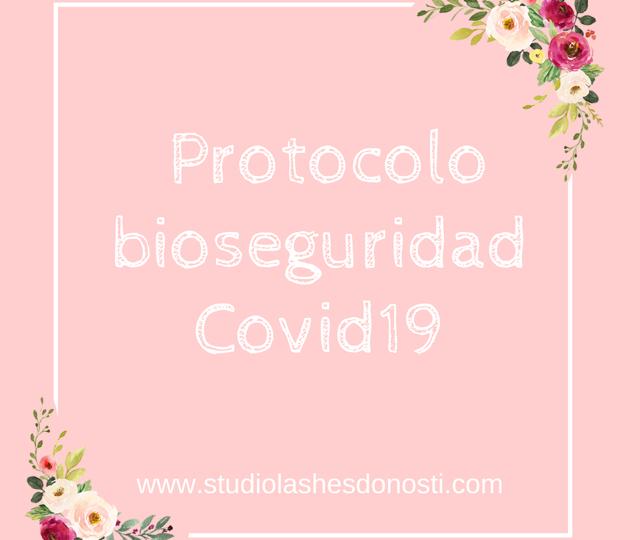 Protocolo de bioseguridad COVID19